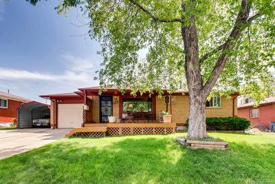 Westminster Single Family Home Active: 7040 Clay Street