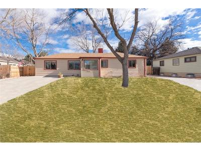 Wheat Ridge Single Family Home Active: 4680 Webster Street