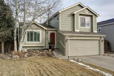 Centennial Single Family Home Under Contract: 5422 South Perth Way