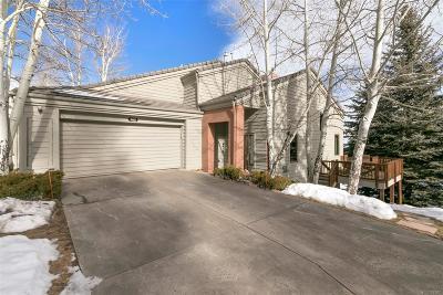 Golden Condo/Townhouse Under Contract: 762 Chimney Creek Drive #C