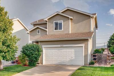 Littleton Single Family Home Under Contract: 9685 Marmot Ridge Circle