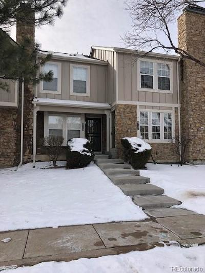 Littleton Condo/Townhouse Under Contract: 9715 West Chatfield Avenue #C