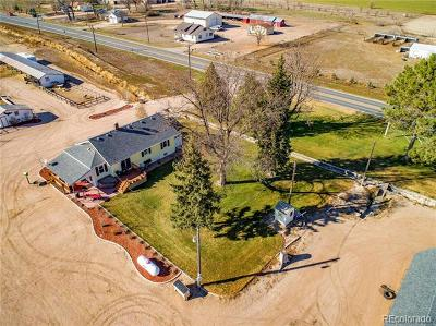 Greeley Single Family Home Active: 26358 County Road 60 1/2