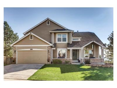 Highlands Ranch Single Family Home Under Contract: 9703 Chanteclair Circle