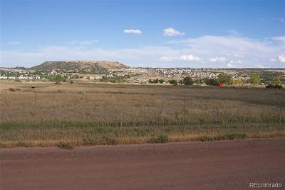 Castle Rock CO Residential Lots & Land Active: $1,800,000
