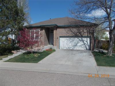 Northglenn Single Family Home Active: 11120 Park Vista Drive