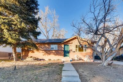 Northglenn Single Family Home Under Contract: 2049 East 116th Avenue