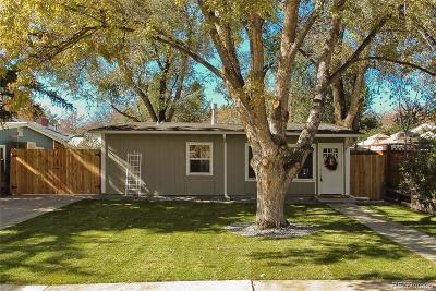 Lafayette Single Family Home Under Contract: 703 South Longmont Avenue