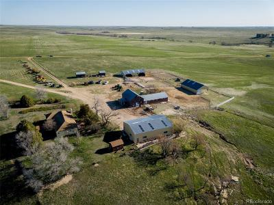 Kiowa Single Family Home Active: 12760 County Road 142