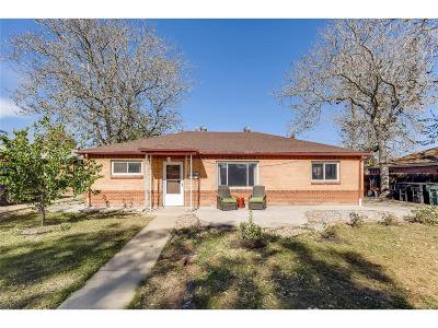 Thornton Single Family Home Active: 1591 Pueblo Court