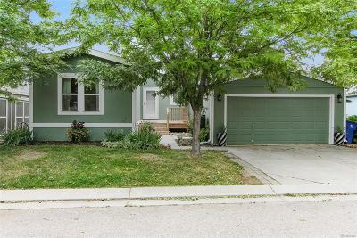 Longmont Single Family Home Active: 11064 Zion #323