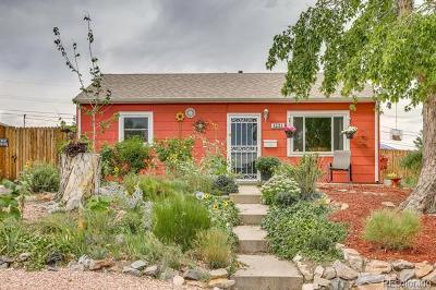 Denver Single Family Home Active: 1231 West Hoye Place