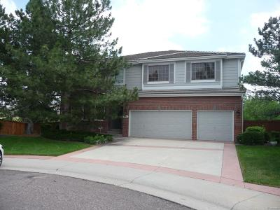 Highlands Ranch Single Family Home Active: 9712 Clairton Place