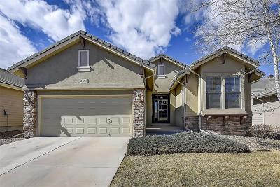 Centennial Single Family Home Active: 6221 South Blackhawk Court