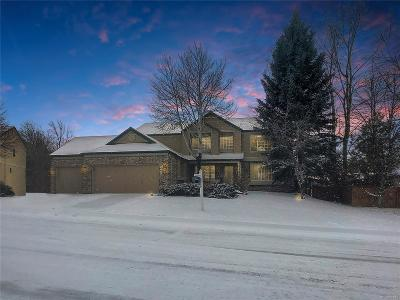 Castle Rock Single Family Home Active: 4910 Golden Valley Trail