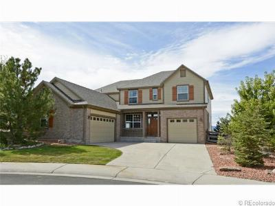 Castle Rock CO Single Family Home Sold: $509,000