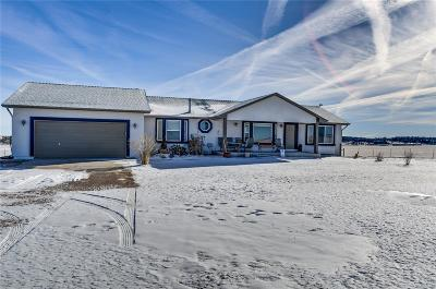 Elbert CO Single Family Home Under Contract: $585,000
