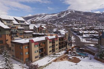 Steamboat Springs CO Condo/Townhouse Active: $699,000