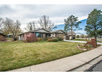 Longmont Single Family Home Under Contract: 3547 Lakeshore Drive