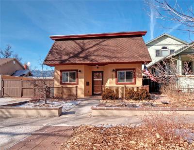 Colorado Springs Single Family Home Active: 312 Custer Avenue