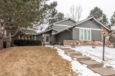 Centennial Single Family Home Active: 4844 East Links Circle
