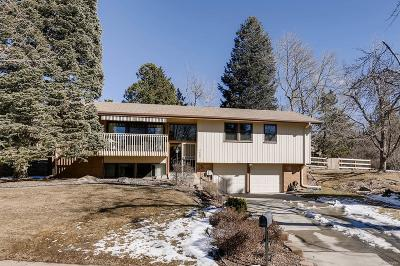 Littleton Single Family Home Active: 6682 South Hill Way