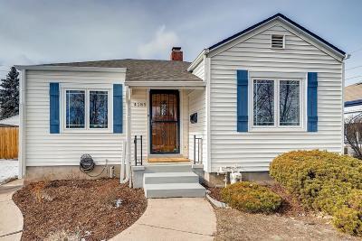 Denver Single Family Home Active: 4185 Benton Street
