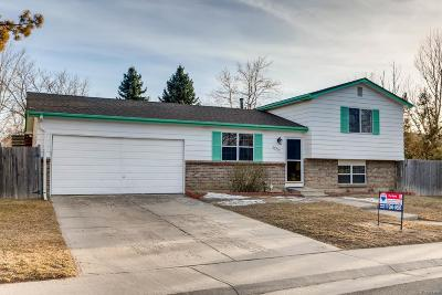 Aurora Single Family Home Under Contract: 14914 East Temple Place