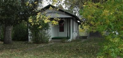 Elbert CO Single Family Home Under Contract: $120,000