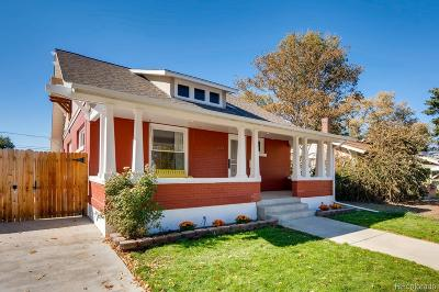 Englewood Single Family Home Active: 3133 South Acoma Street