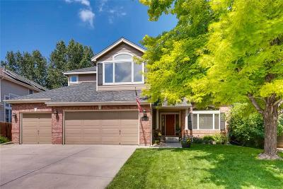 Littleton Single Family Home Active: 11385 West Coal Mine Drive