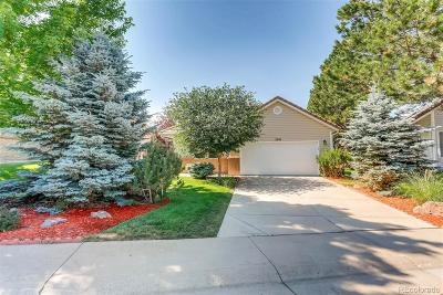 Castle Rock Single Family Home Under Contract: 2916 Masters Court