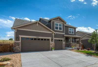 Castle Rock Single Family Home Under Contract: 7288 Oasis Drive