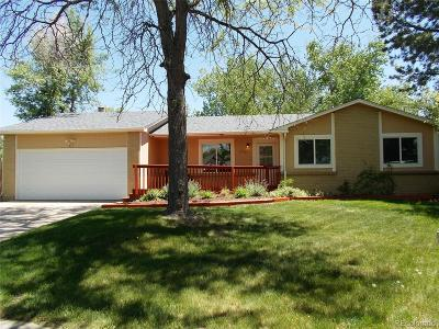 Broomfield Single Family Home Active: 12430 Lowell Court