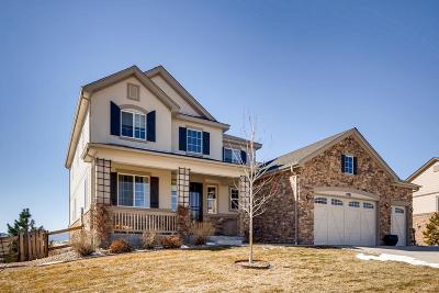 Castle Rock Single Family Home Under Contract: 2881 Celtic Drive