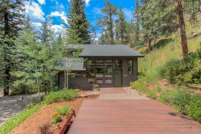 Evergreen Single Family Home Under Contract: 7020 South Blue Creek Road