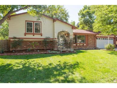 Littleton Single Family Home Active: 5152 West Geddes Circle