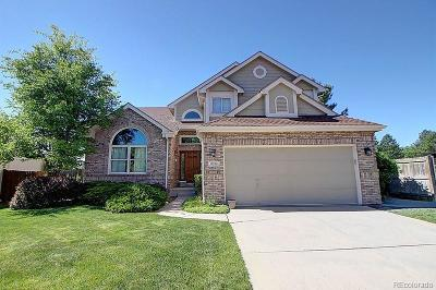 Littleton Single Family Home Active: 11052 West Rowland Drive