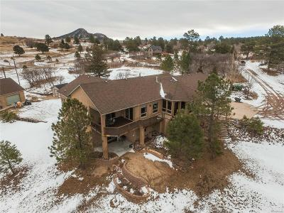 Castle Pines, Castle Rock, Larkspur Single Family Home Active: 10789 South Perry Park Road