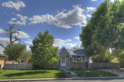Denver Single Family Home Active: 2280 Stacy Drive