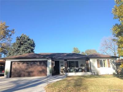 Wheat Ridge Single Family Home Under Contract: 4145 Ammons Street