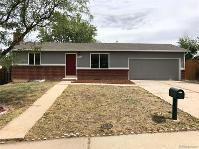 Aurora Single Family Home Active: 3062 South Joplin Court