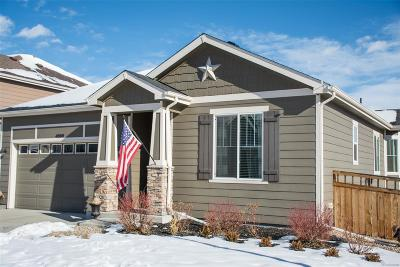 Castle Rock Single Family Home Under Contract: 4000 Starry Night Loop