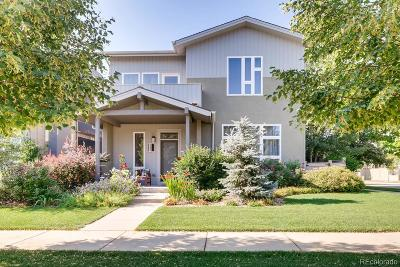 Boulder CO Single Family Home Active: $1,200,000