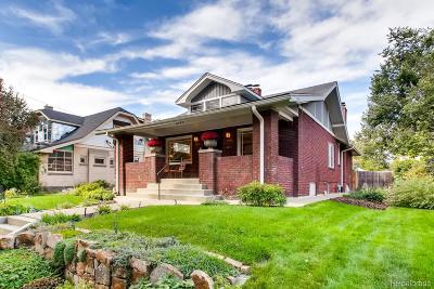 Denver Single Family Home Active: 2549 Eudora Street