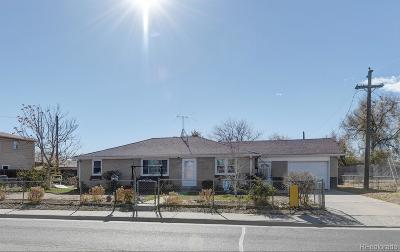 Commerce City Single Family Home Under Contract: 6560 East 70th Avenue