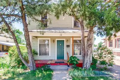 Greeley Single Family Home Under Contract: 1118 5th Street