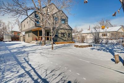 Denver Single Family Home Active: 4875 Chase Street