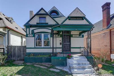 Denver CO Single Family Home Active: $600,000