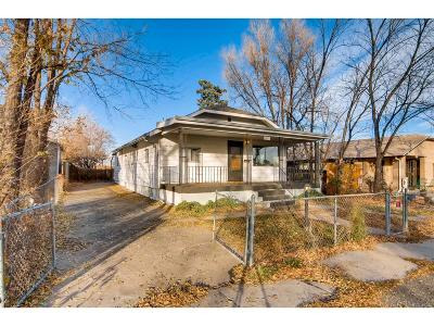 Lakewood Single Family Home Under Contract: 1459 Benton Street